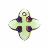 Swarovski Pendant 6868 Cross Tribe 24mm Peridot Scarabaeus Green 1Pc